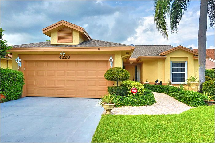 Boynton Beach Fl Home For Sale 4228 Green Forest Way