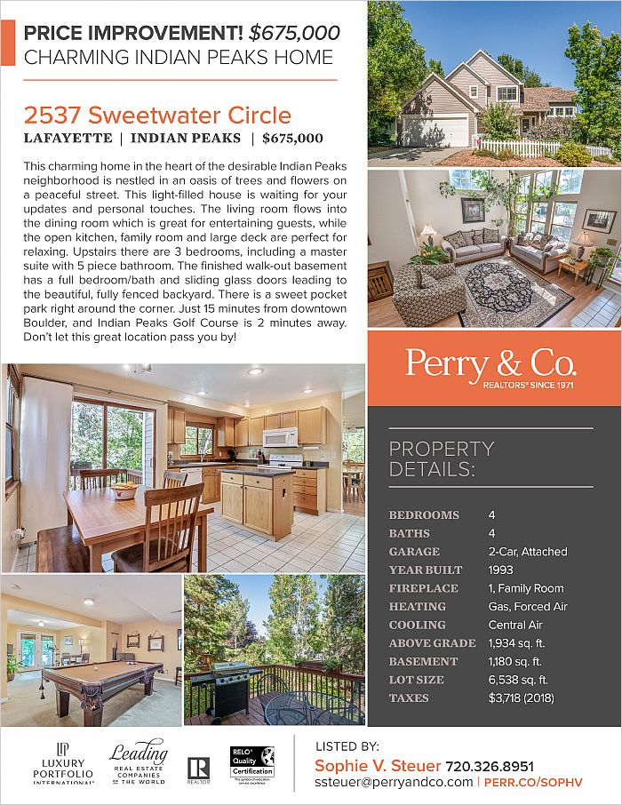 Elfyer - Lafayette, CO House - For Sale